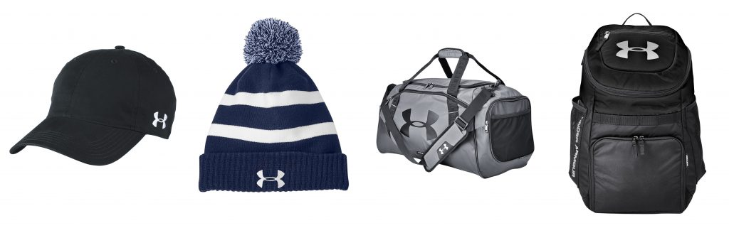 Custom Under Armour Hats and Custom Bags from NYFifth