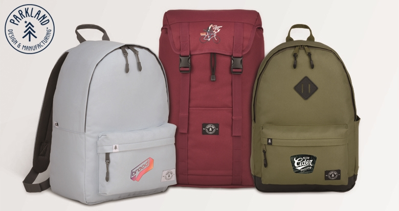 Parkland Custom Backpacks from NYFifth