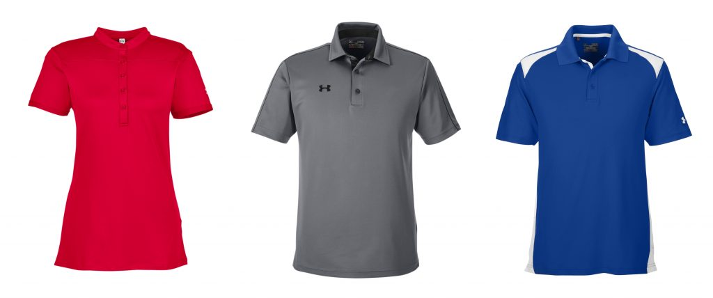 Under Armour Custom Polo Shirts from NYFifth