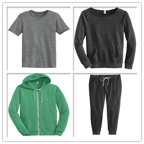 Alternative Apparel Eco Fleece Clothing from NYFifth