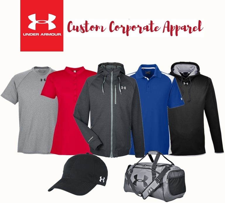 Custom Under Armour Corporate Apparel and Accessories from NYFifth