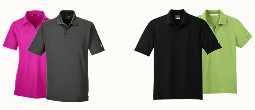 Under Armour Performance Polo VS Nike Golf Polo from NYFifth