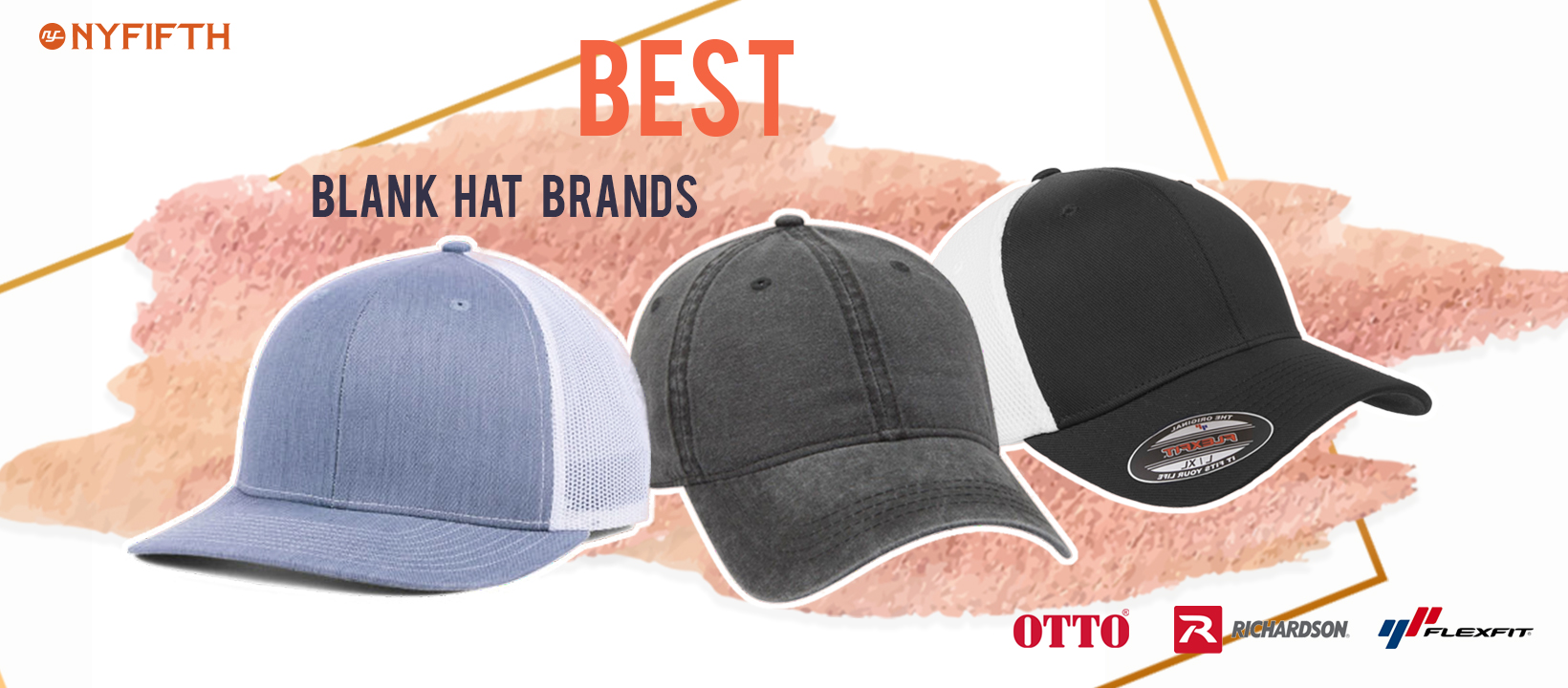 40c7f549e0027 Best Blank Hat Brands for Embroidery