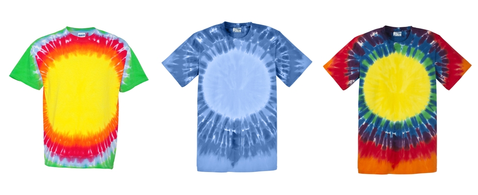 Bullseye Tie Dye Tees from NYFifth