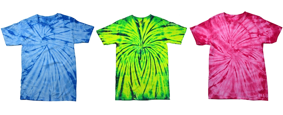 Spider Tie Dye Tees from NYFifth