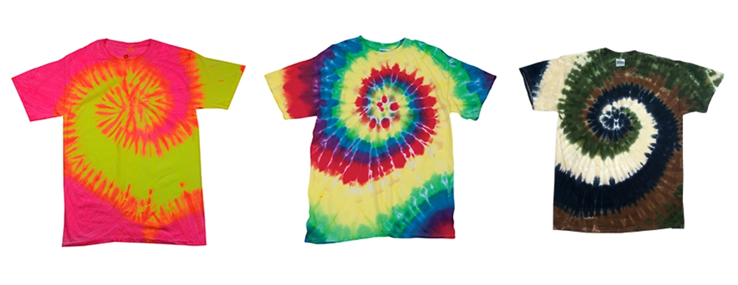 Spiral Tie Dye Tees from NYFifth
