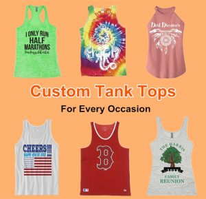 Custom Tank Tops for Every Occasion from NYFifth