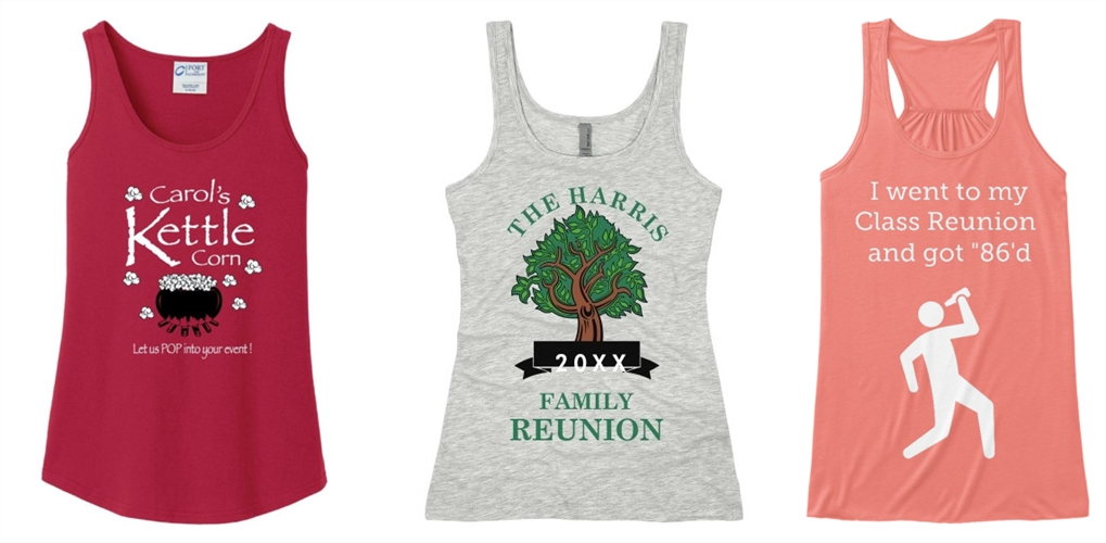 Custom Tank Tops for Special Events from NYFifth