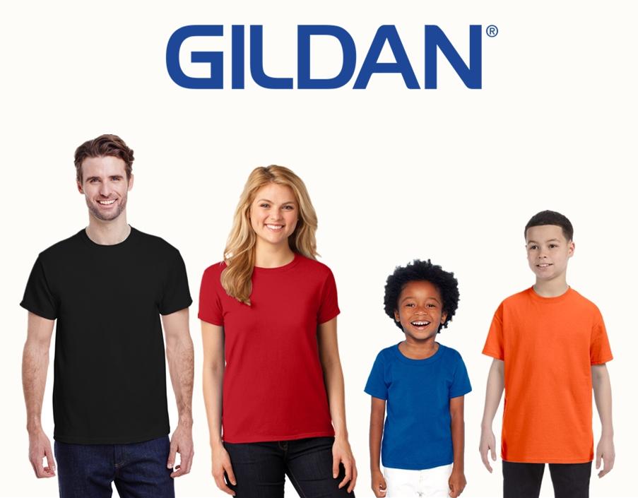 Gildan Blank Tees for Screen Printing from NYFifth