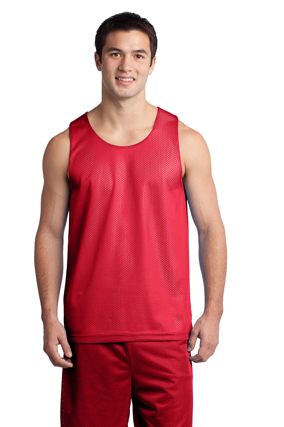 Sport Tek ST500 PosiCharge Classic Mesh Reversible Tank from NYFifth