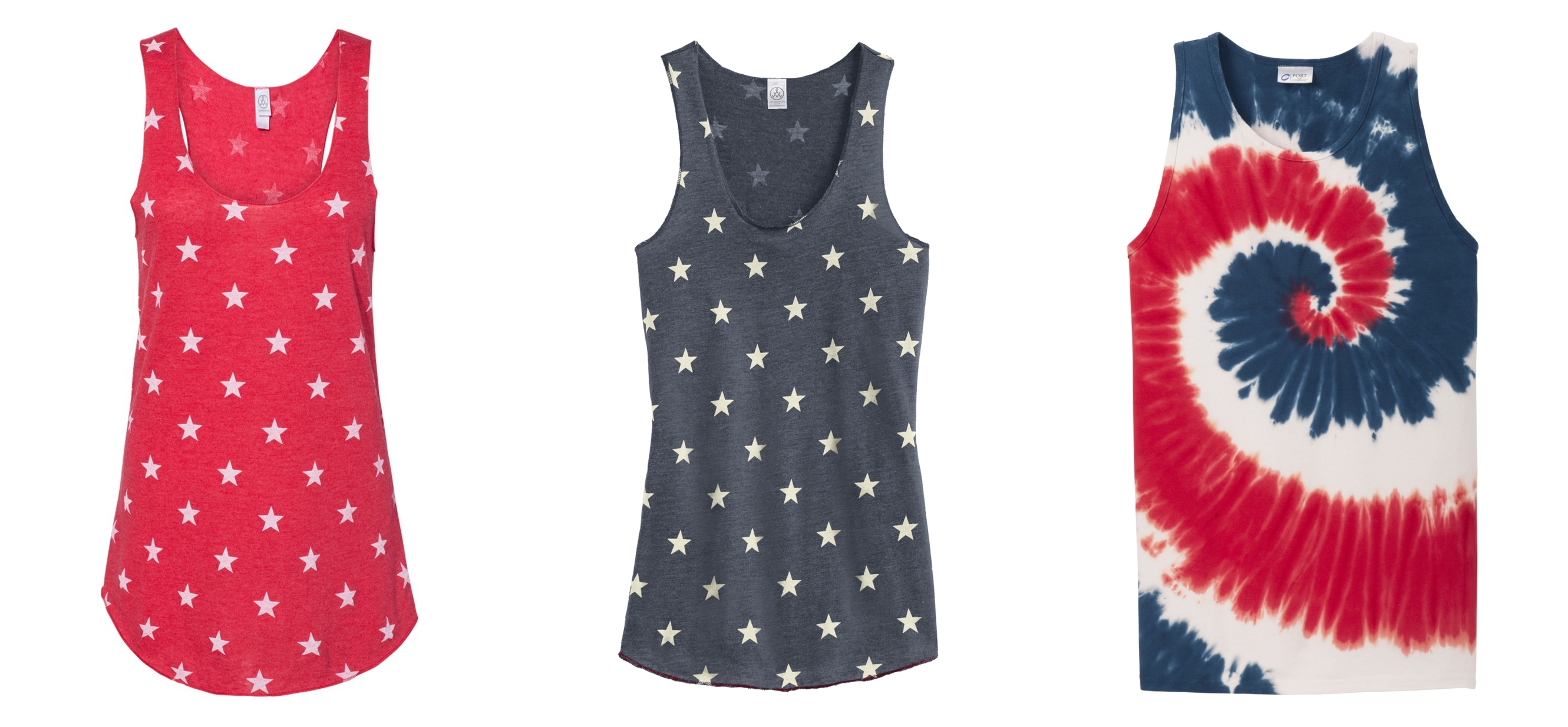 Tank Tops for 4th of July from NYFifth