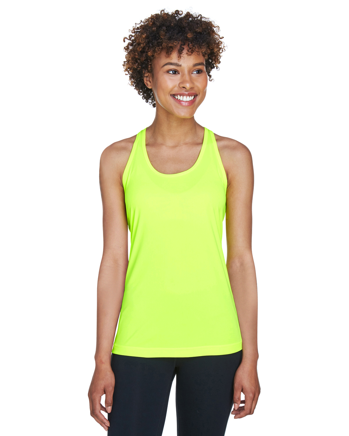 Team 365 TT11WRC Ladies Zone Performance Racerback Tank from NYFifth