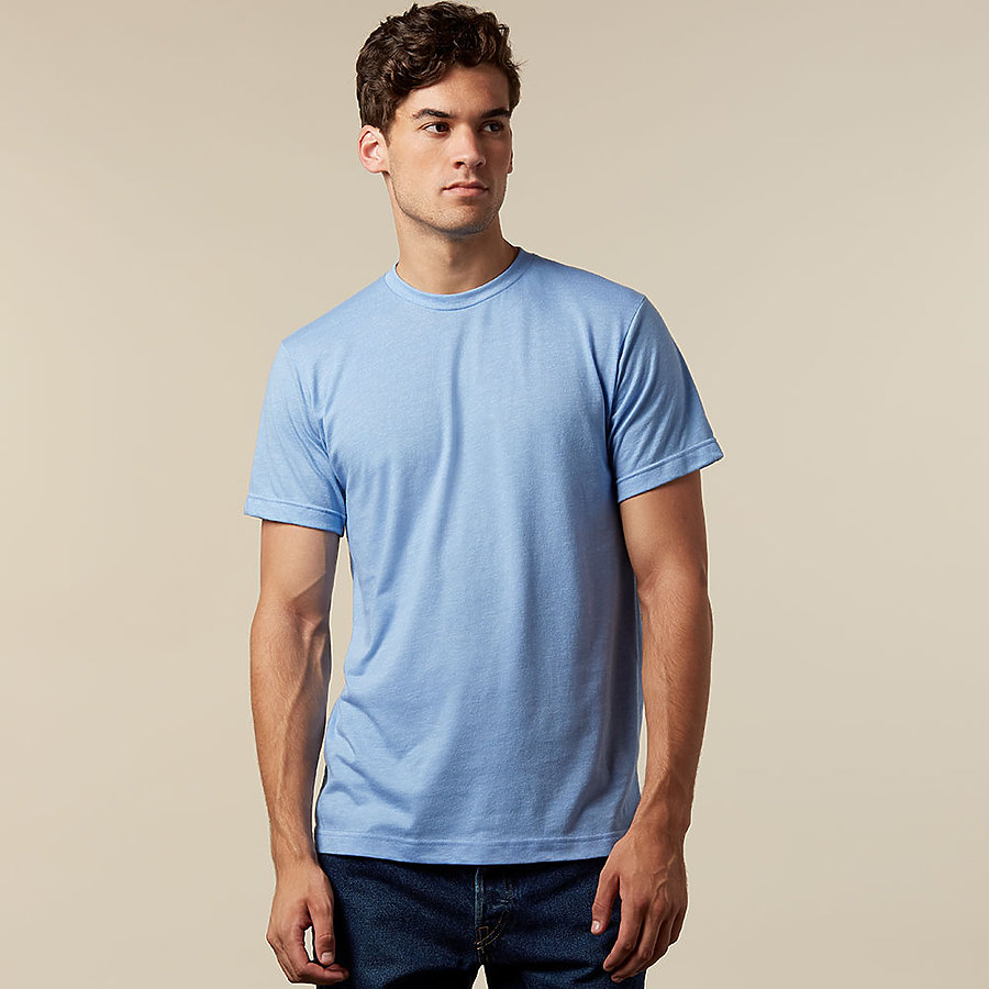 Tultex 241 Unisex Poly Rich Blend Tee from NYfifth