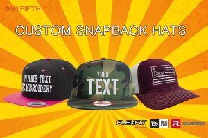 Custom Snapbacks from NYFifth