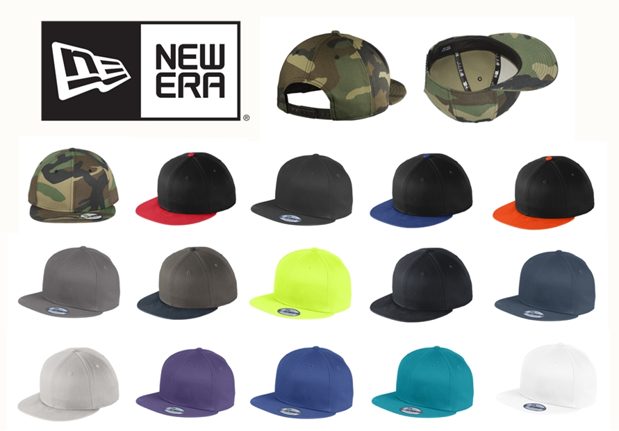 New Era NE400 Flat Bill Snapback Cap from NYFifth