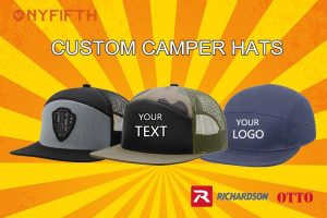 Now Trending Custom Camper Hats from NYFifth