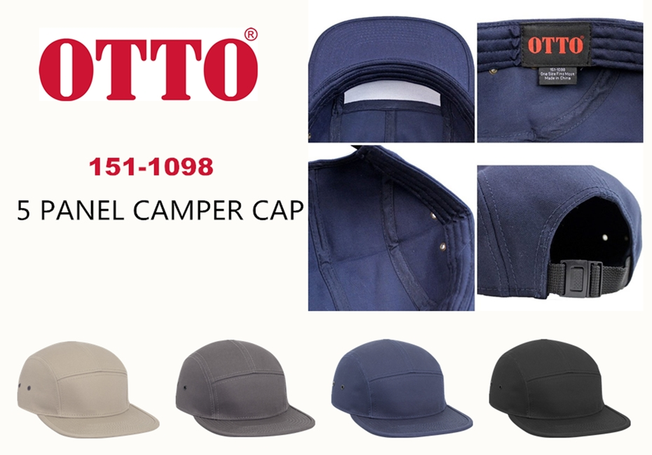 OTTO Cap 5 Panel Camper Cap from NYFifth
