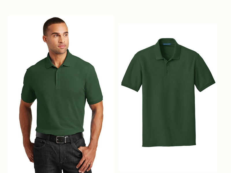 Port Authority K100 Core Classic Pique Polo from NYFifth