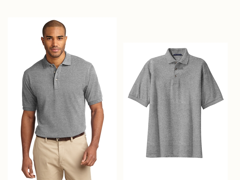 Port Authority K420 Heavyweight Cotton Pique Polo from NYFifth