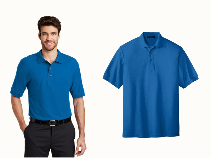 Port Authority K500 Silk Touch Polo from NYFifth