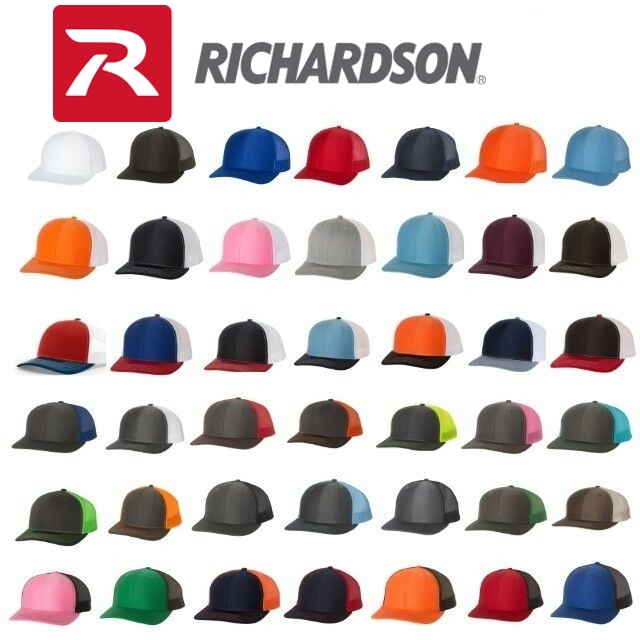 Richardson 112 Trucker Snapback Cap from NYFifth