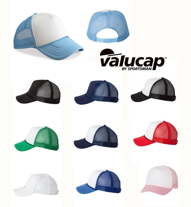 Valucap VC700 Foam Trucker Cap from NYFifth