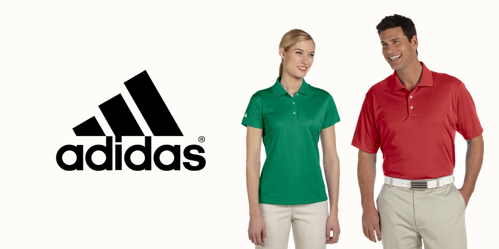 Adidas Custom Polo Shirts from NYFifth