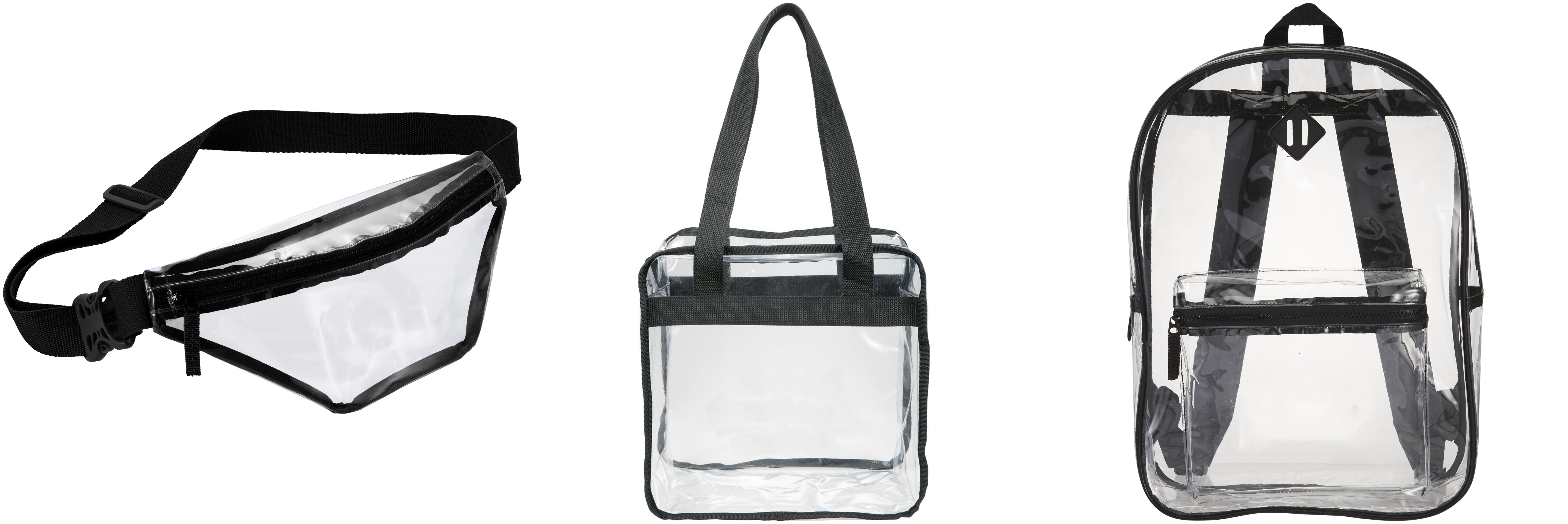 Clear Bags from NYFifth