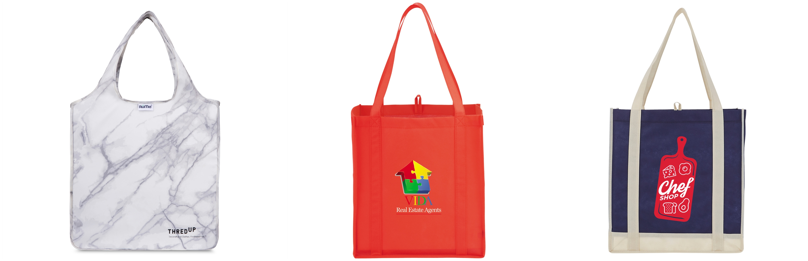 Custom Grocery Tote Bags from NYFifth
