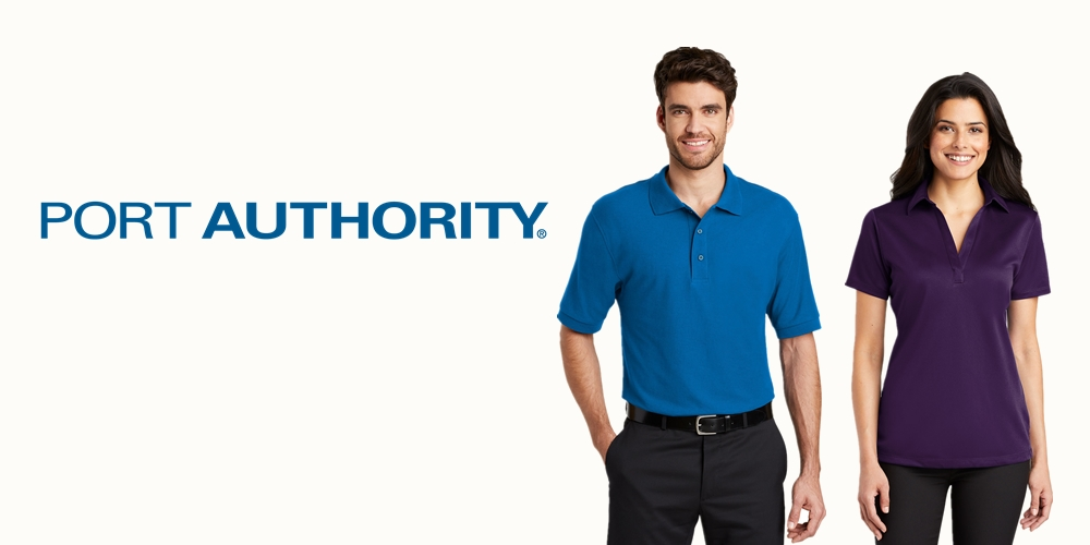 Port Authority Custom Polo Shirts from NYFifth