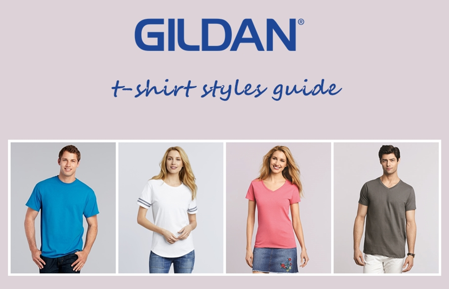 The Ultimate Gildan Tee Shirt Styles Guide from NYFifth