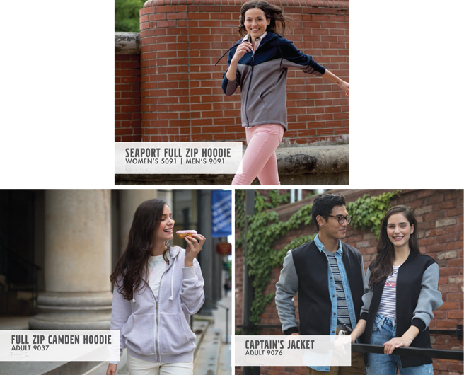 Charles River Full Zip Jackets from NYFifth