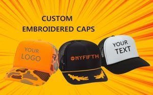 Custom Embroidered Hats from NYFifth