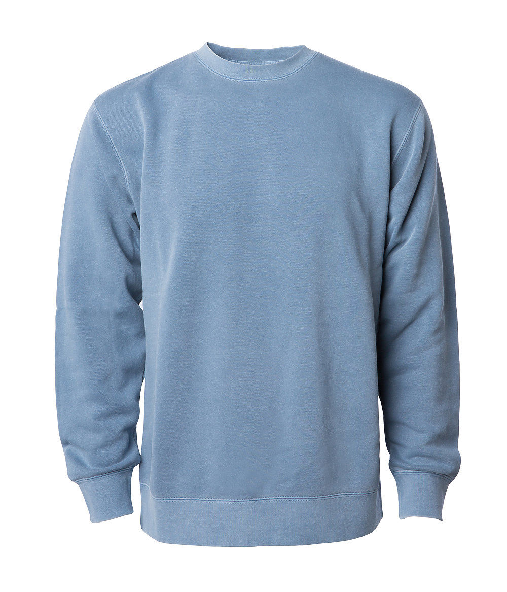 Independent Trading Co Unisex Midweight Pigment Dyed Crew Neck from NYFifth