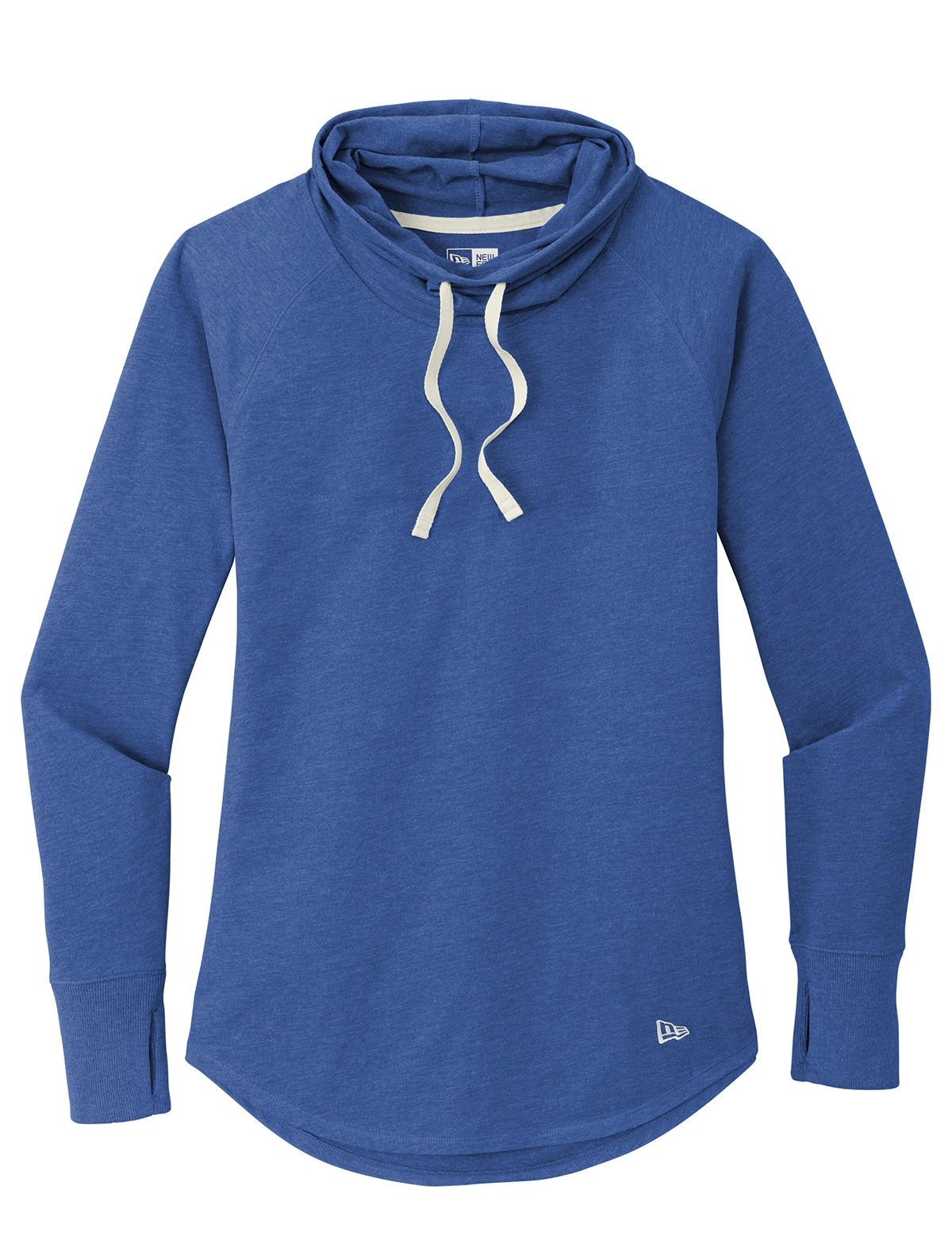 New Era Ladies Sueded Cotton Blend Cowl Tee from NYFifth