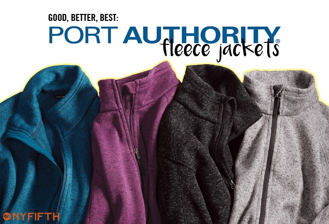 Port Authority Fleece Jackets from NYFifth