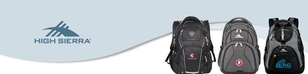 Custom High Sierra Backpacks from NYFifth