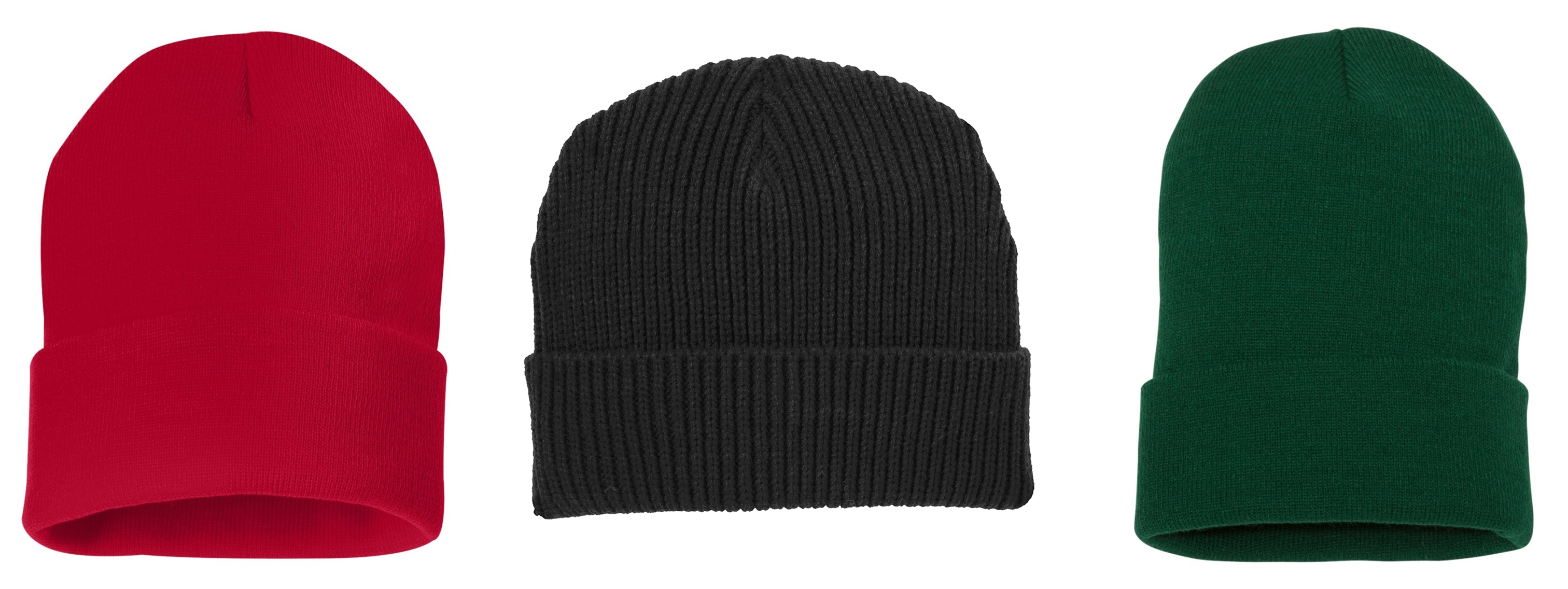 Custom Knit Beanies with Cuff from NYFifth