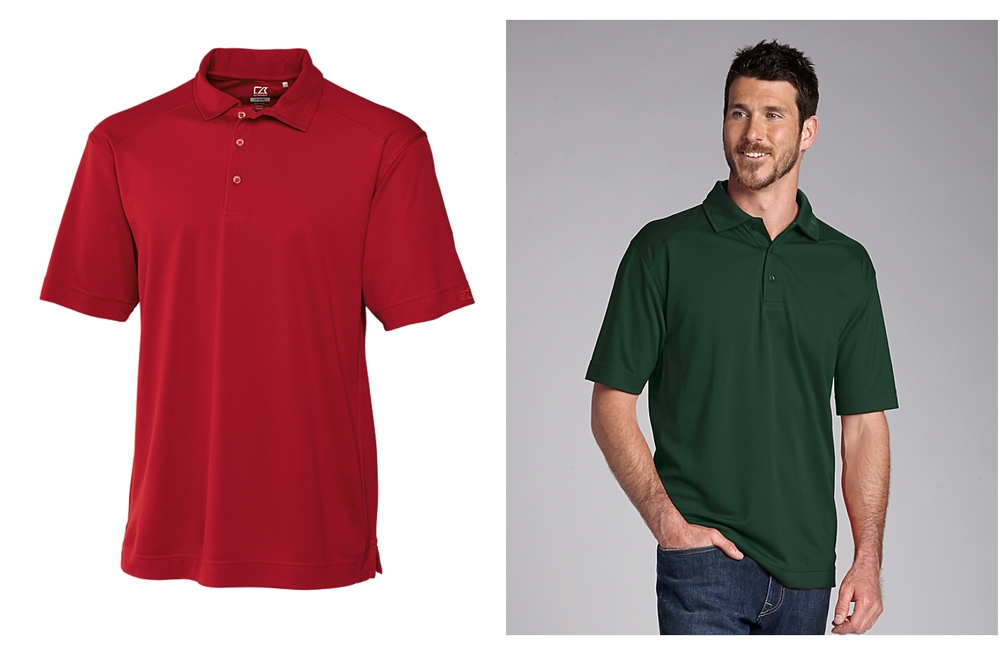 CUTTER BUCK MCK00291 Mens CB DryTec Genre Polo from NYFifth
