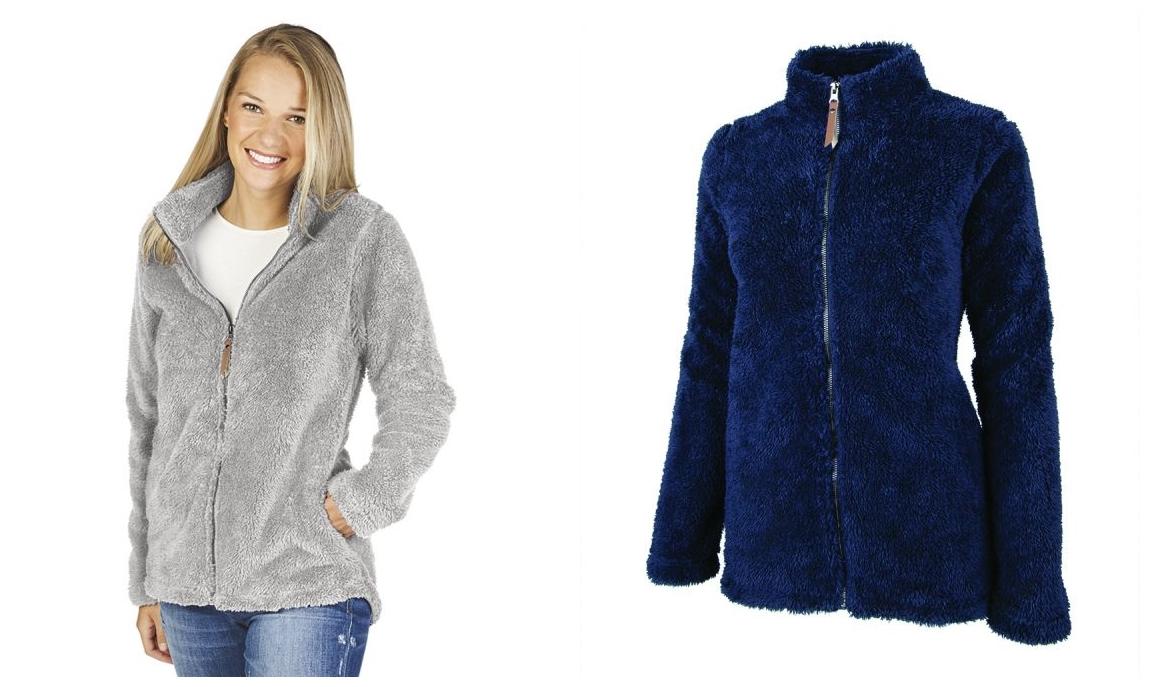 Charles River 5978 Womens Newport Full Zip Fleece Jacket from NYFifth