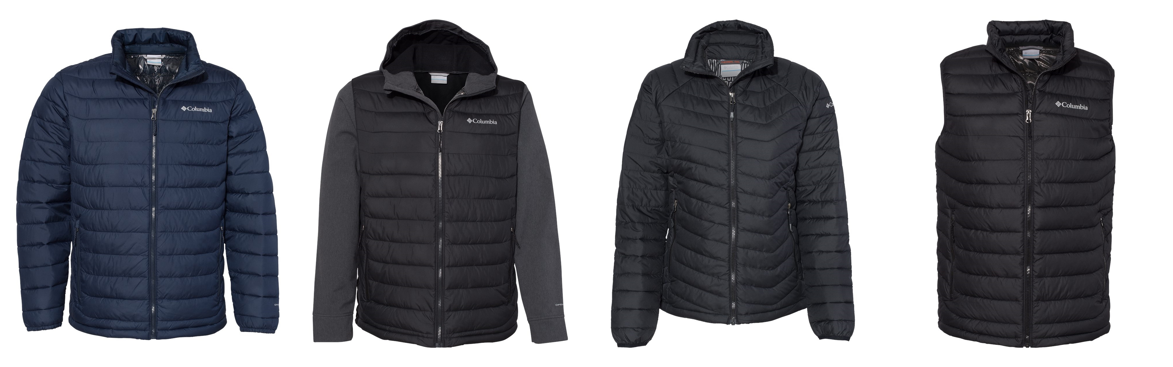 Columbia Insulated Jackets from NYFifth