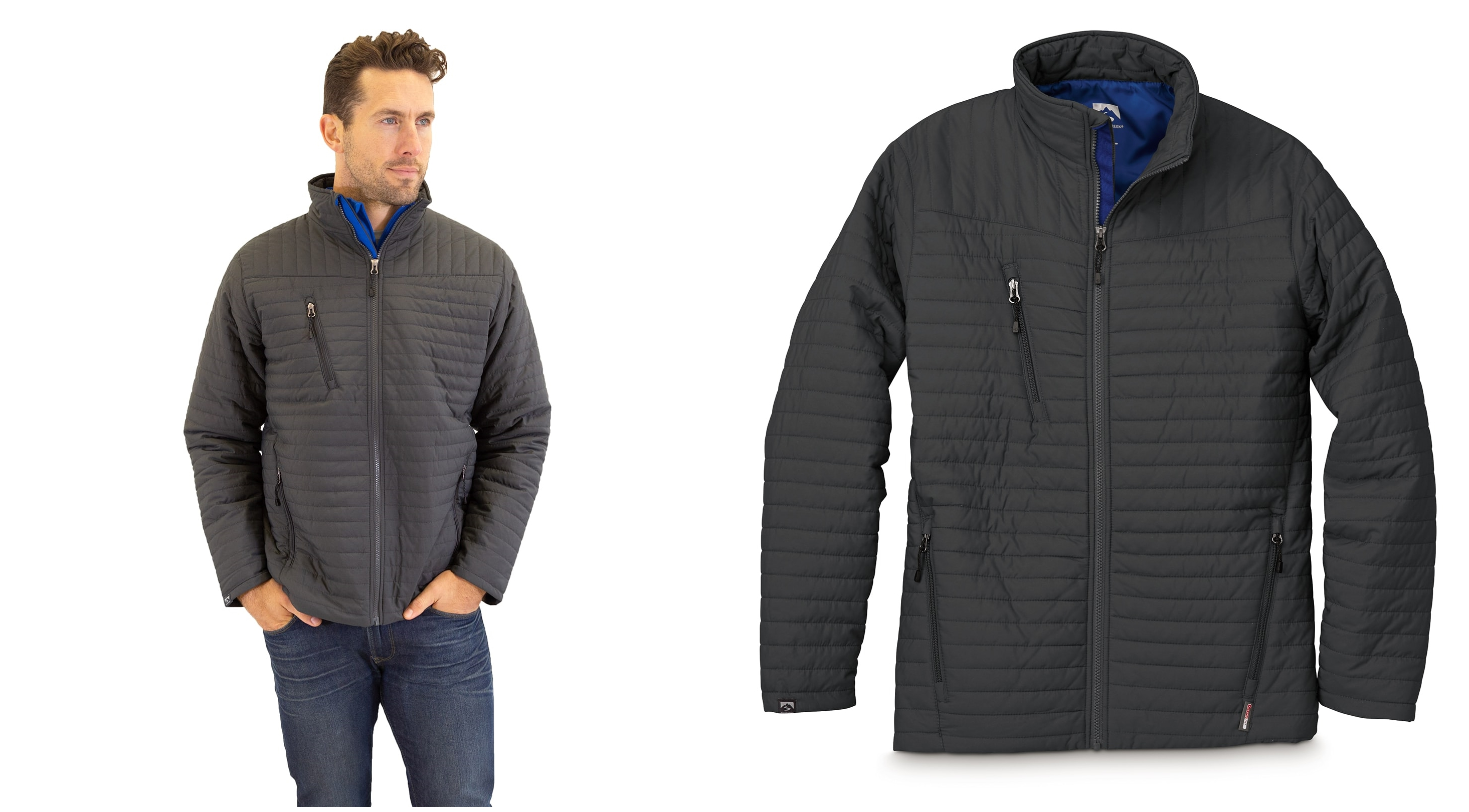 Storm Creek 3160 Mens Quilted Thermolite Jacket from NYFifth