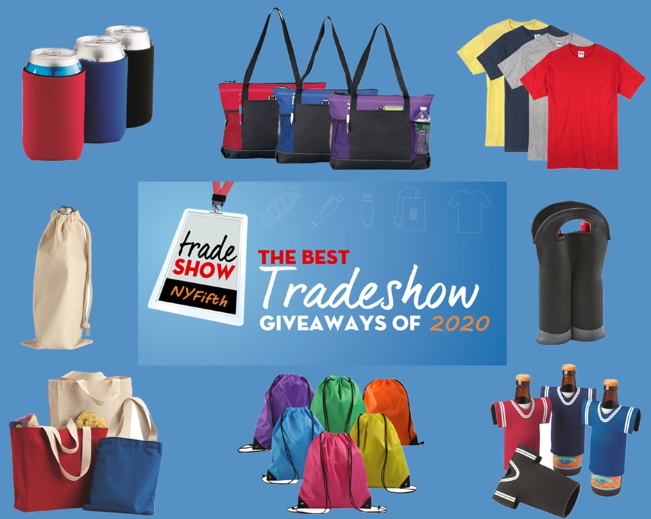 Best Trade Show Giveaways 2020 from NYFifth