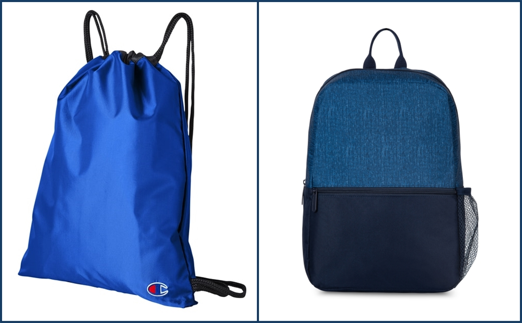 Classic Blue Bags from NYFifth