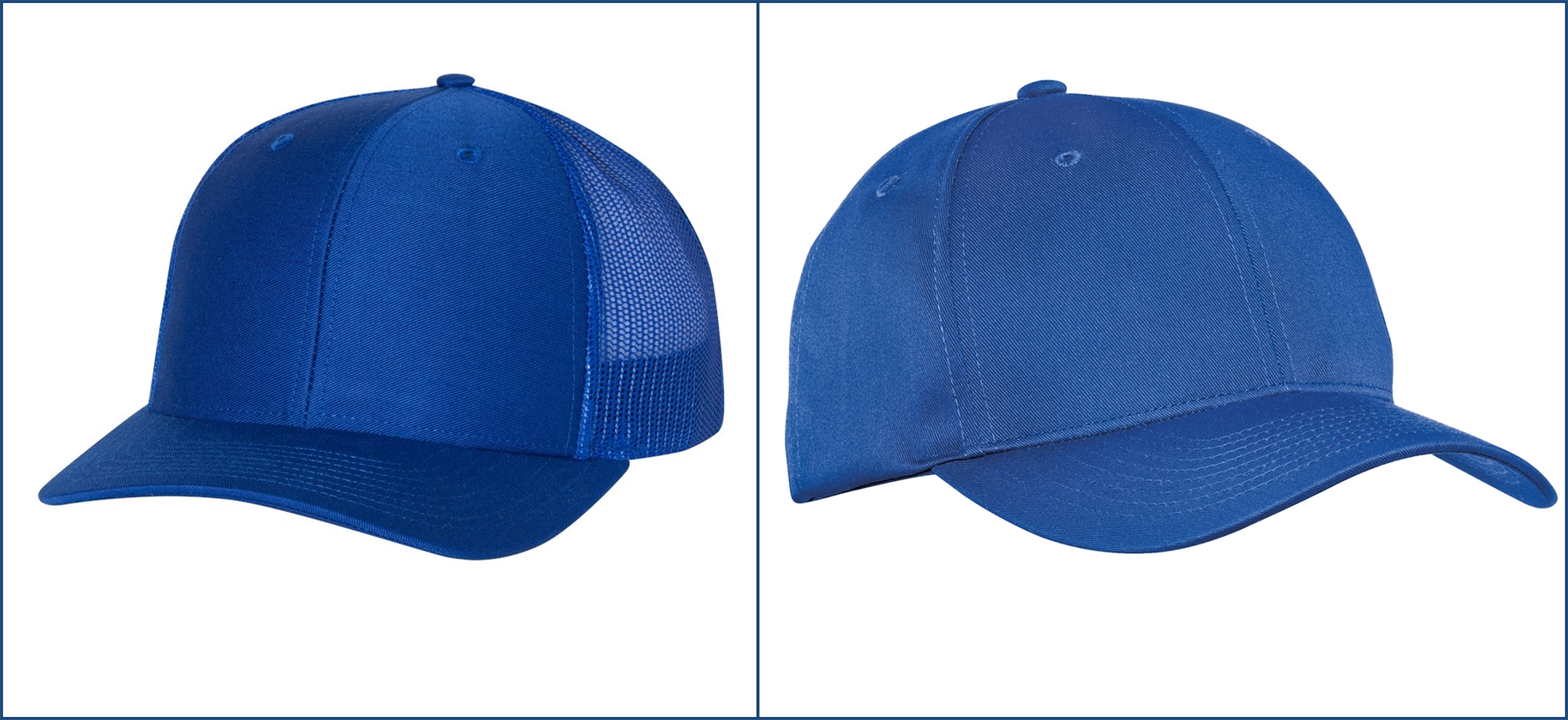 Classic Blue Hats from NYFifth
