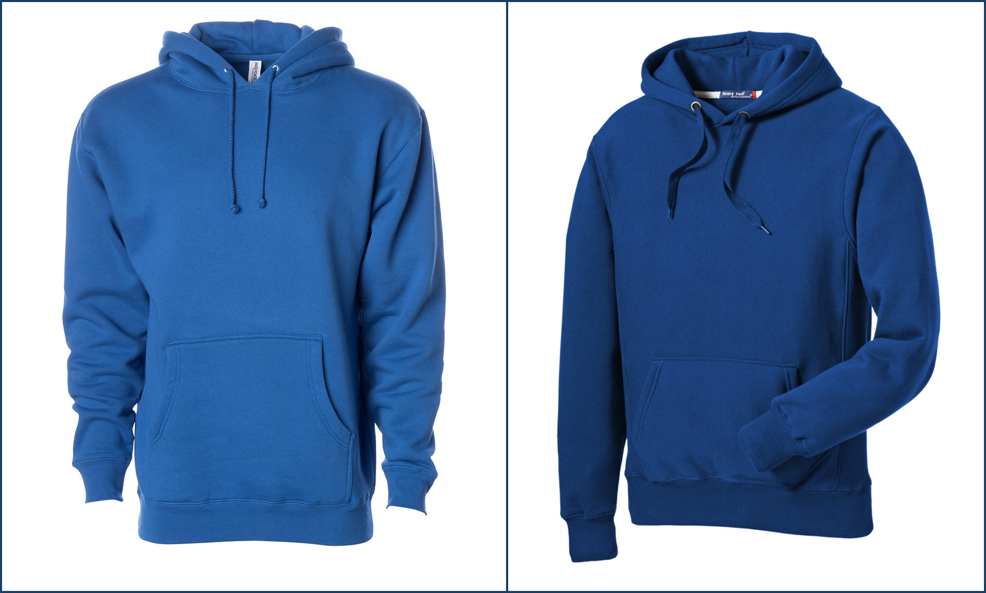 Classic Blue Hoodies from NYFifth