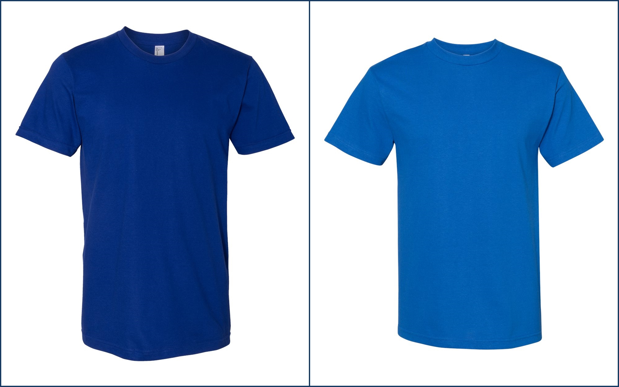Classic Blue Tee Shirts from NYFifth