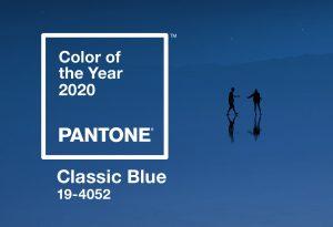Pantone Color of 2020 Classic Blue