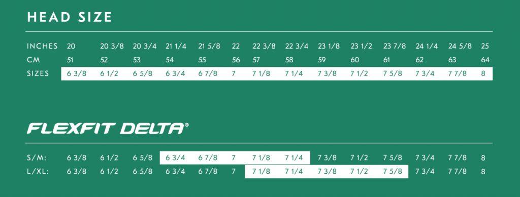 Flexfit Delta Size Chart NYFifth