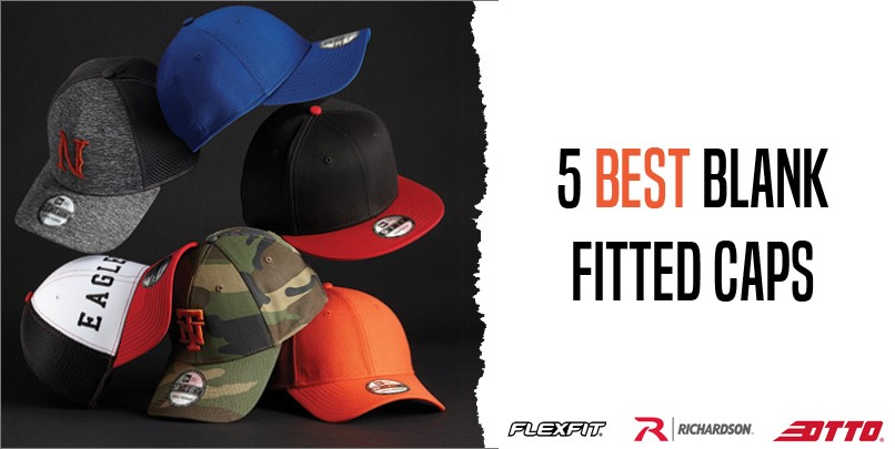 5 Best Blank Fitted Caps from NYFifth